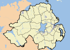 Carnmore is located in Northern Ireland